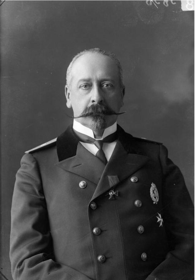 1913. Вице-губернатор Бирюков