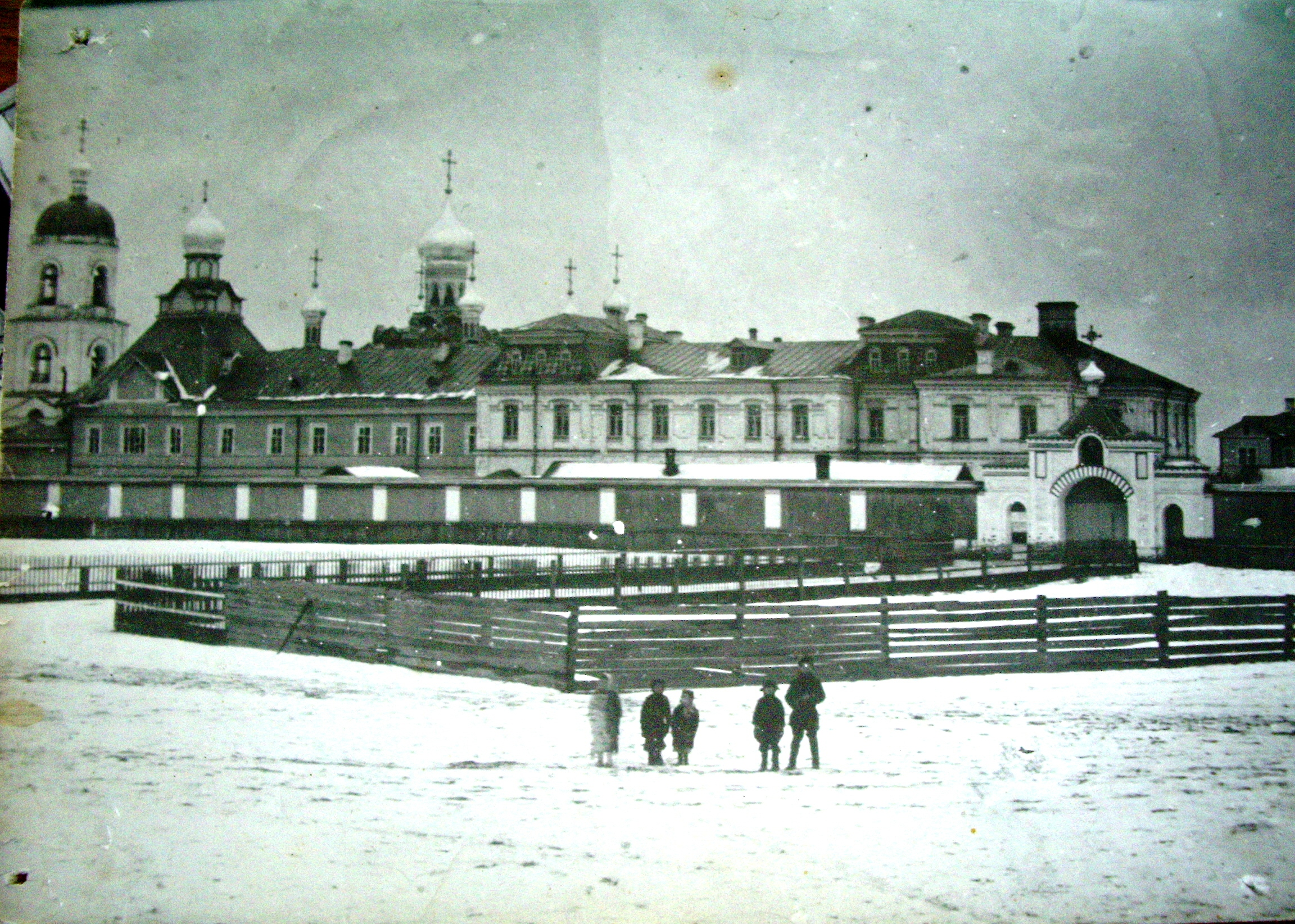 Комплекс Иоанно-Богословского Сурского женского монастыря
