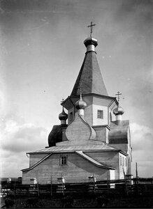 Окрестности Шенкурска. Успенская церковь в Суланде