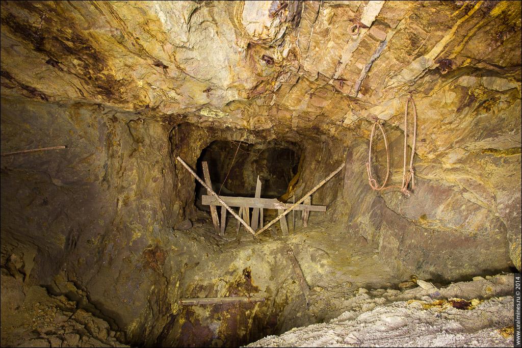 Заброшенная медная шахта