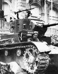 Захваченный франкистами танк  Т-26 обр. 1933 г.