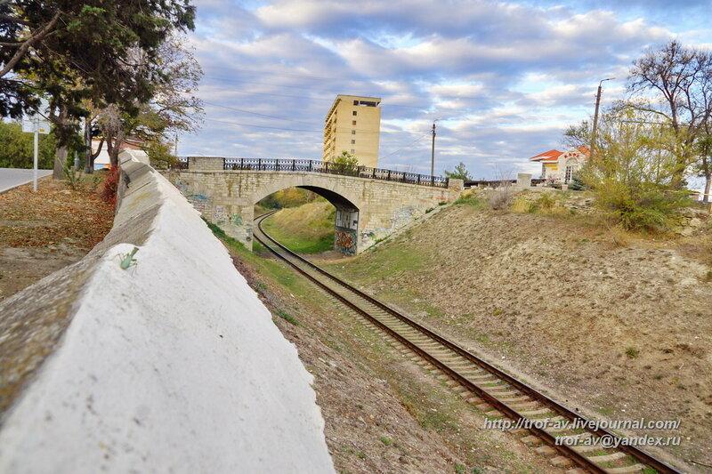 Железнодорожный мост, Феодосия