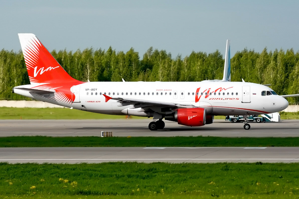 Airbus A319-111. Vim Airlines. VP-BDY..