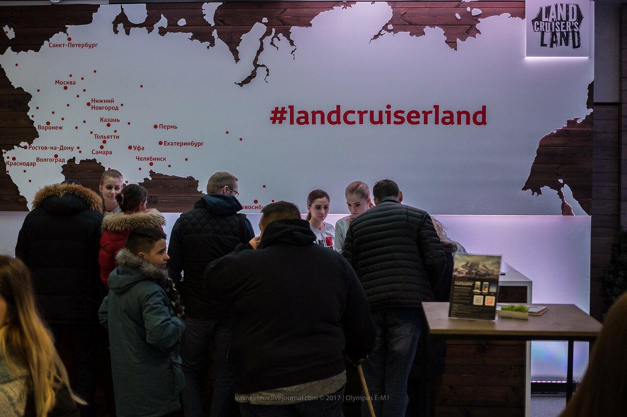 Land Cruiser's Land 2018 toyota prado fortuner moscow