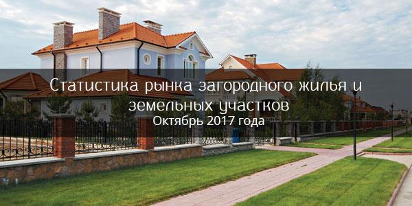 Анализ рынка загородного жилья и земельных участков Кирова в октябре 2017 года