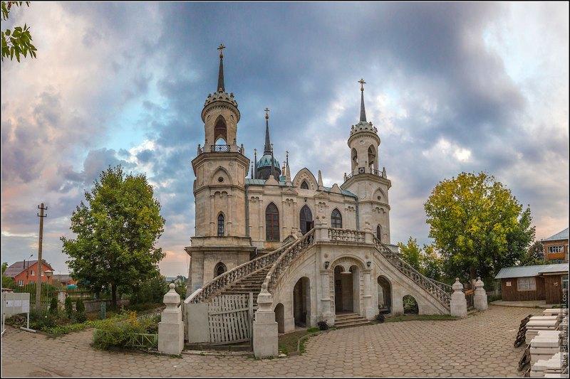 Церковь Владимирской иконы Божией Матери. Быково, Московская область