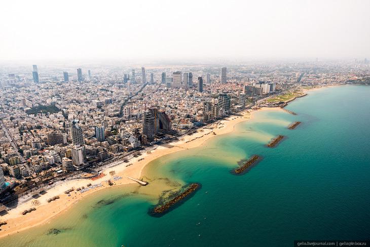 2. В самом Тель-Авиве проживает около 430 тысяч человек, это второй по величине после Иерусалима гор