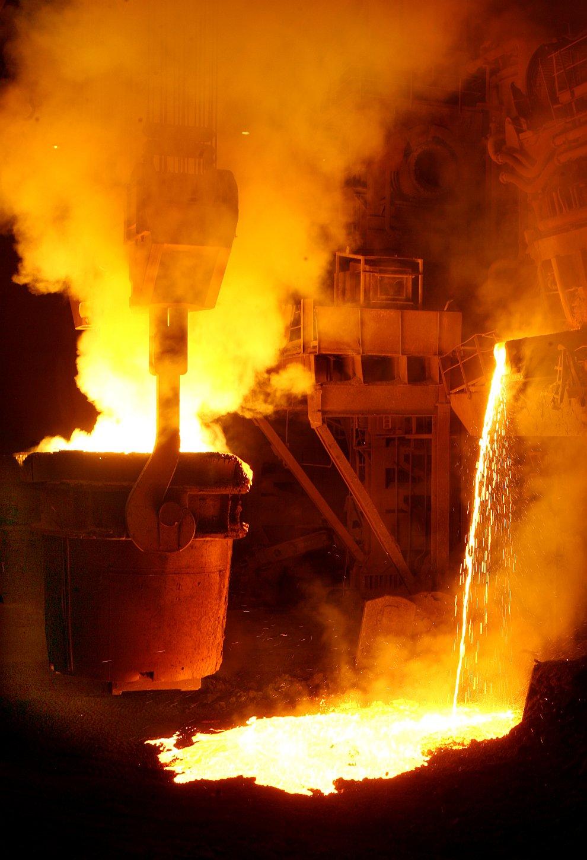 Сталеплавильное производство является вторым звеном в общем производственном цикле черной металлурги