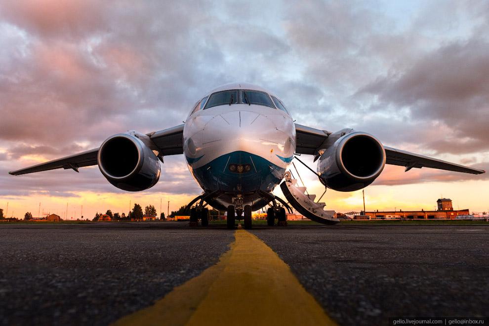 6. «Ангара» сегодня является одним из основных авиаперевозчиков на местных авиалиниях в Восточной Си