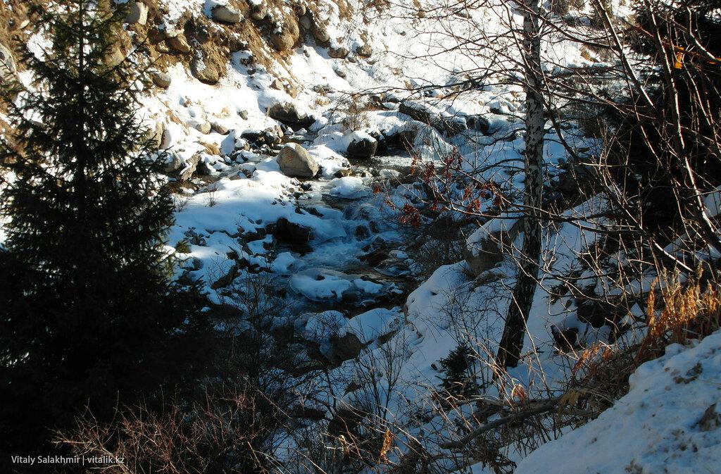 Речка Малая алматинка.