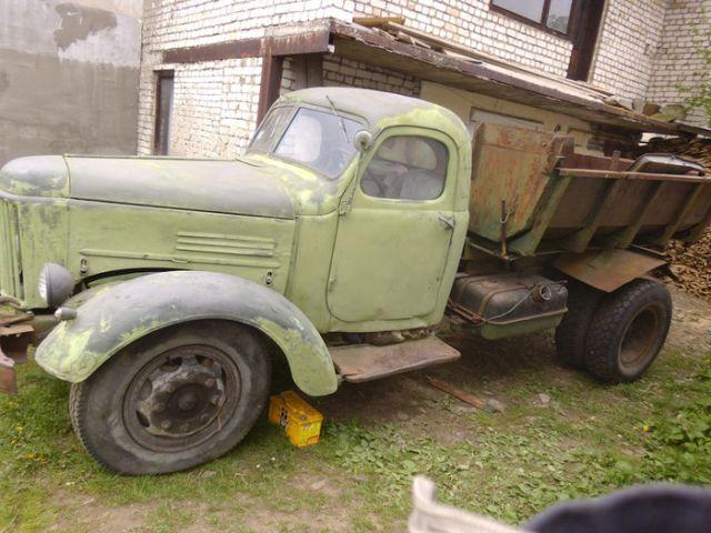Вторая жизнь советского грузовика ЗиЛ-164