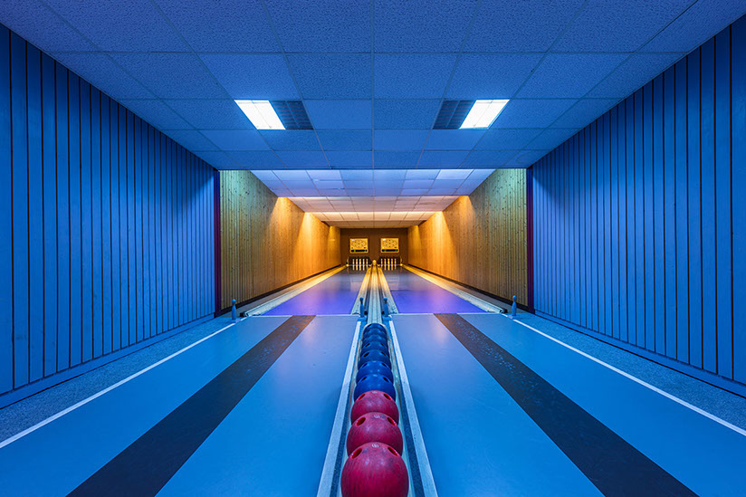 A Half Century of Bowling Alley Design in Southern Germany Captured by Robert Gotzfried