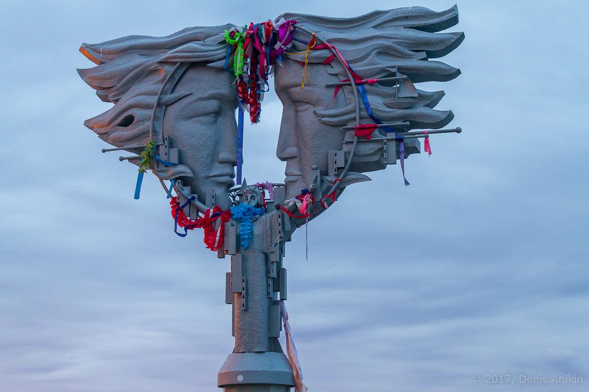 памятник влюбленным саратов фото 2
