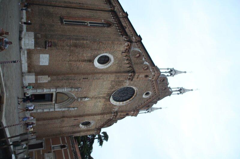 Венеция. Санта-Мария Глориоза деи Фрари.