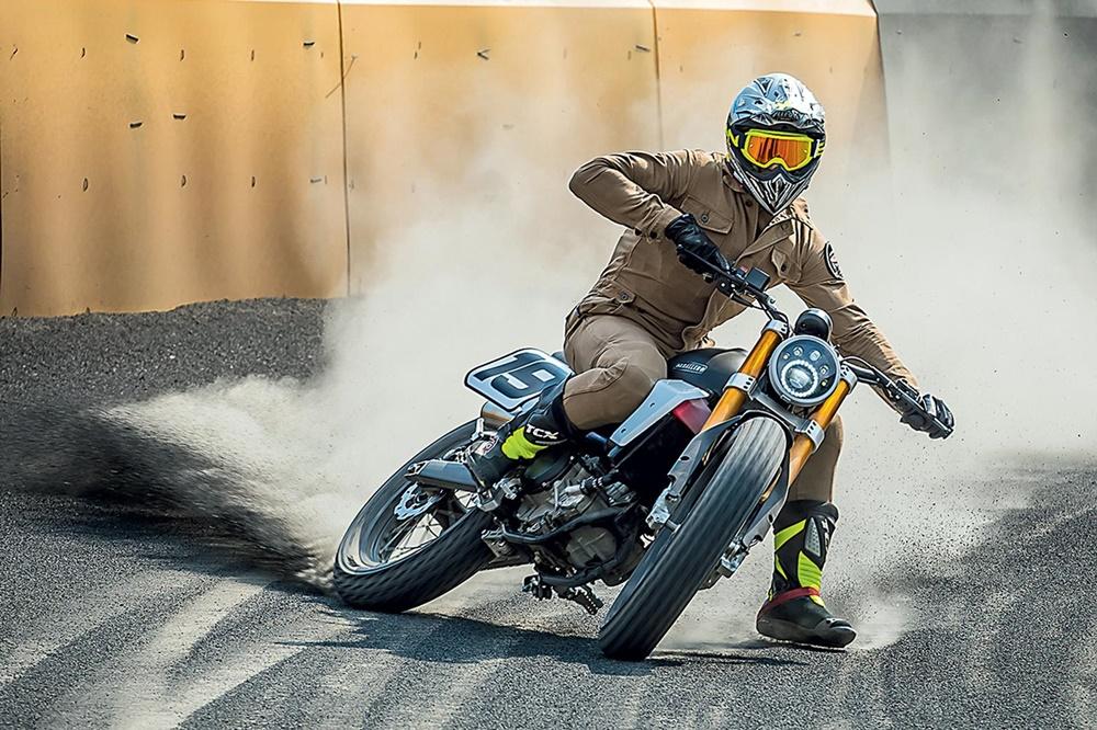 Новый мотоцикл Fantic Caballero 500 Flat Track 2018