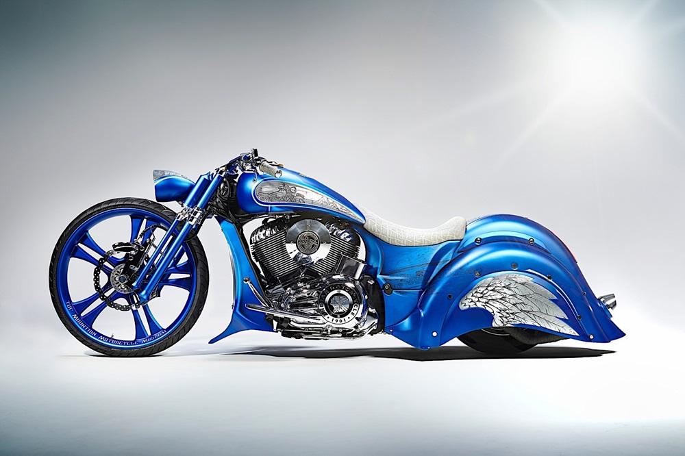 Styrian Motor Cycle: кастом-бэггер Top Mountain на базе Indian Chief Vintage