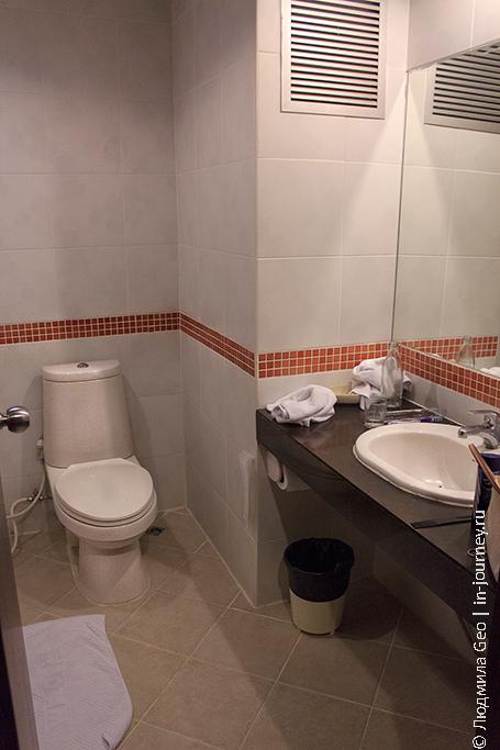 ванная комната Naris Art Pattaya