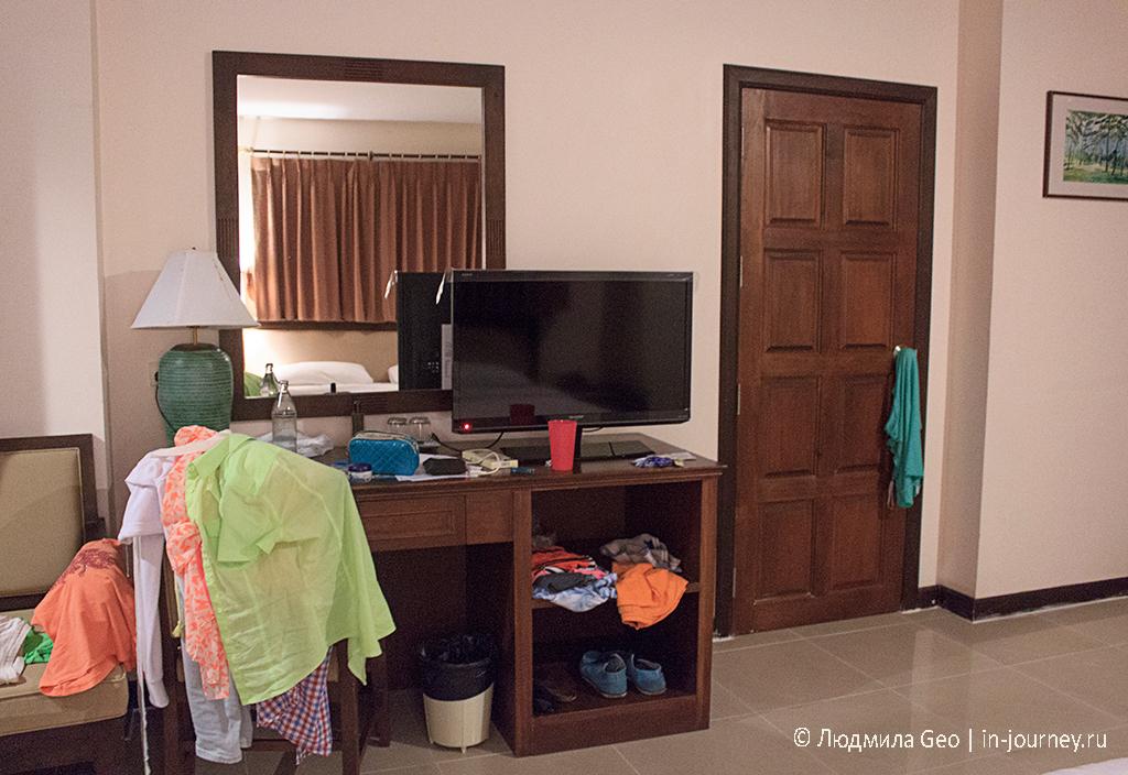 Номер в отеле Нарис Арт в Паттайе