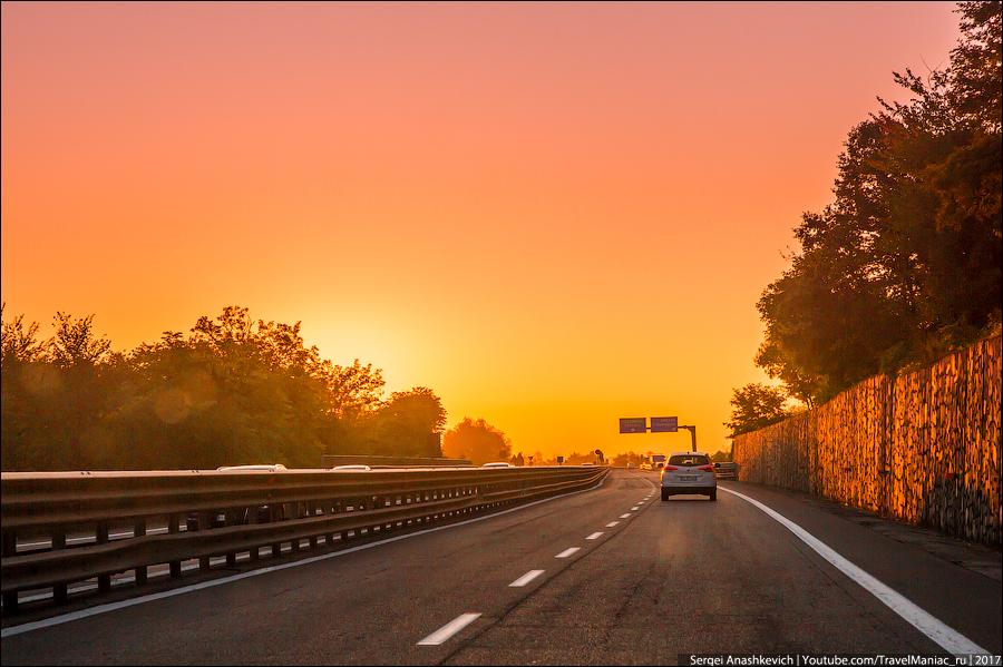 Рассвет в Тоскане