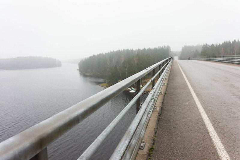 мост через протоку Саймы