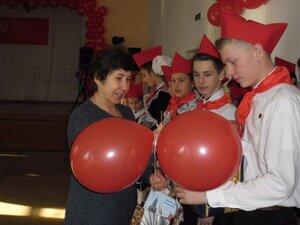 """В Ольгинском районе Приморья отряд """"Орлёнок"""" пополнился новыми пионерами"""