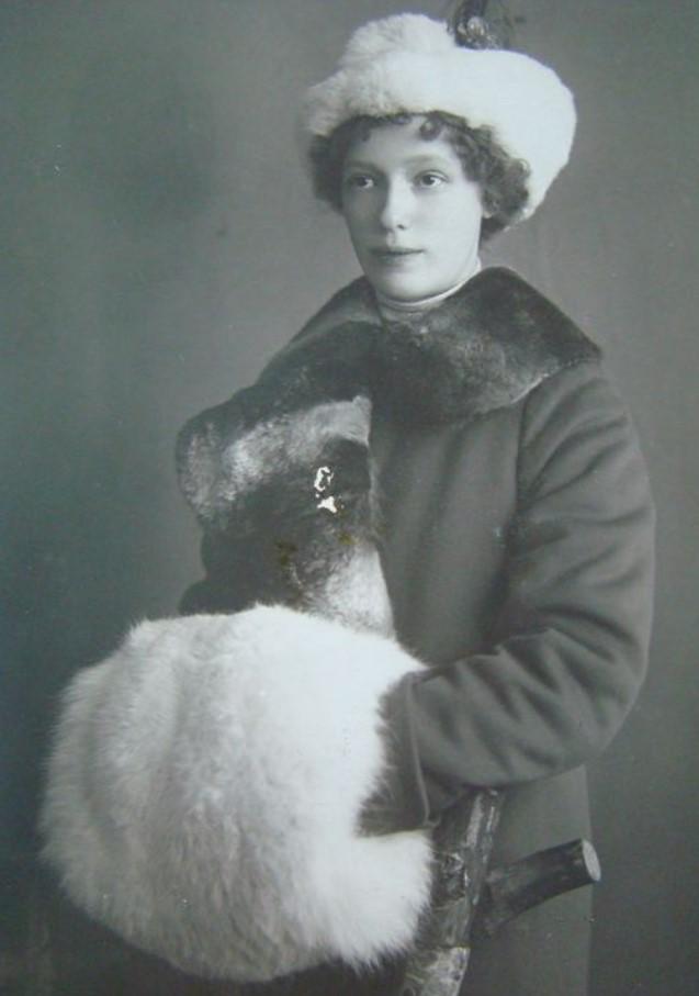 1912. Портрет Марии Александровны Глассон