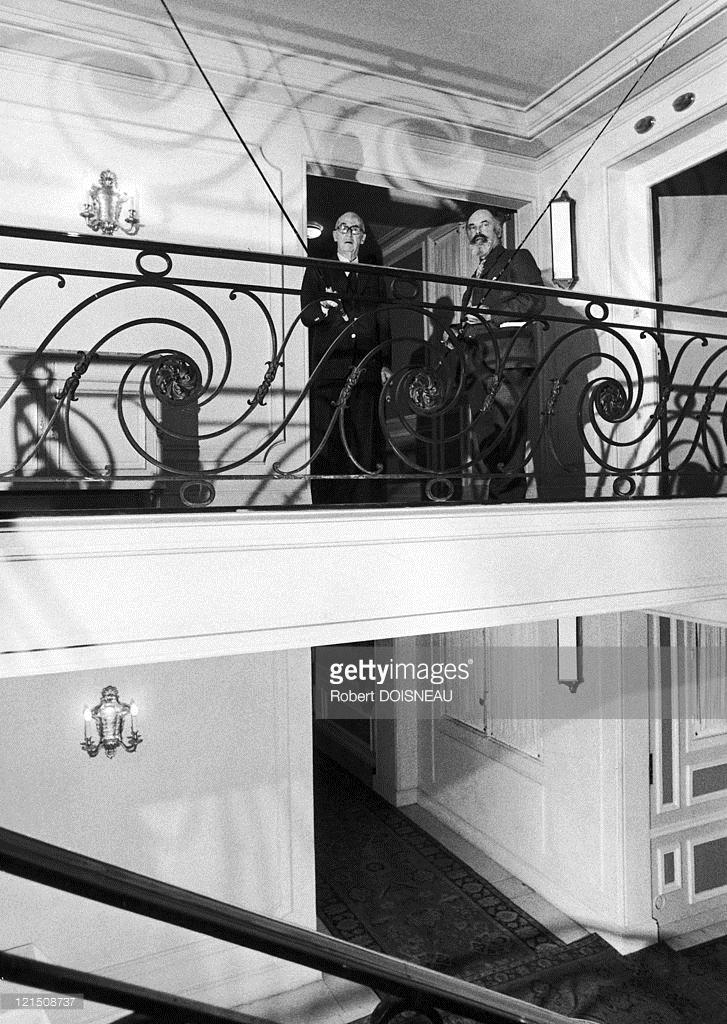 1973. Чарльз Риц и Максим Гахам в отеле Риц