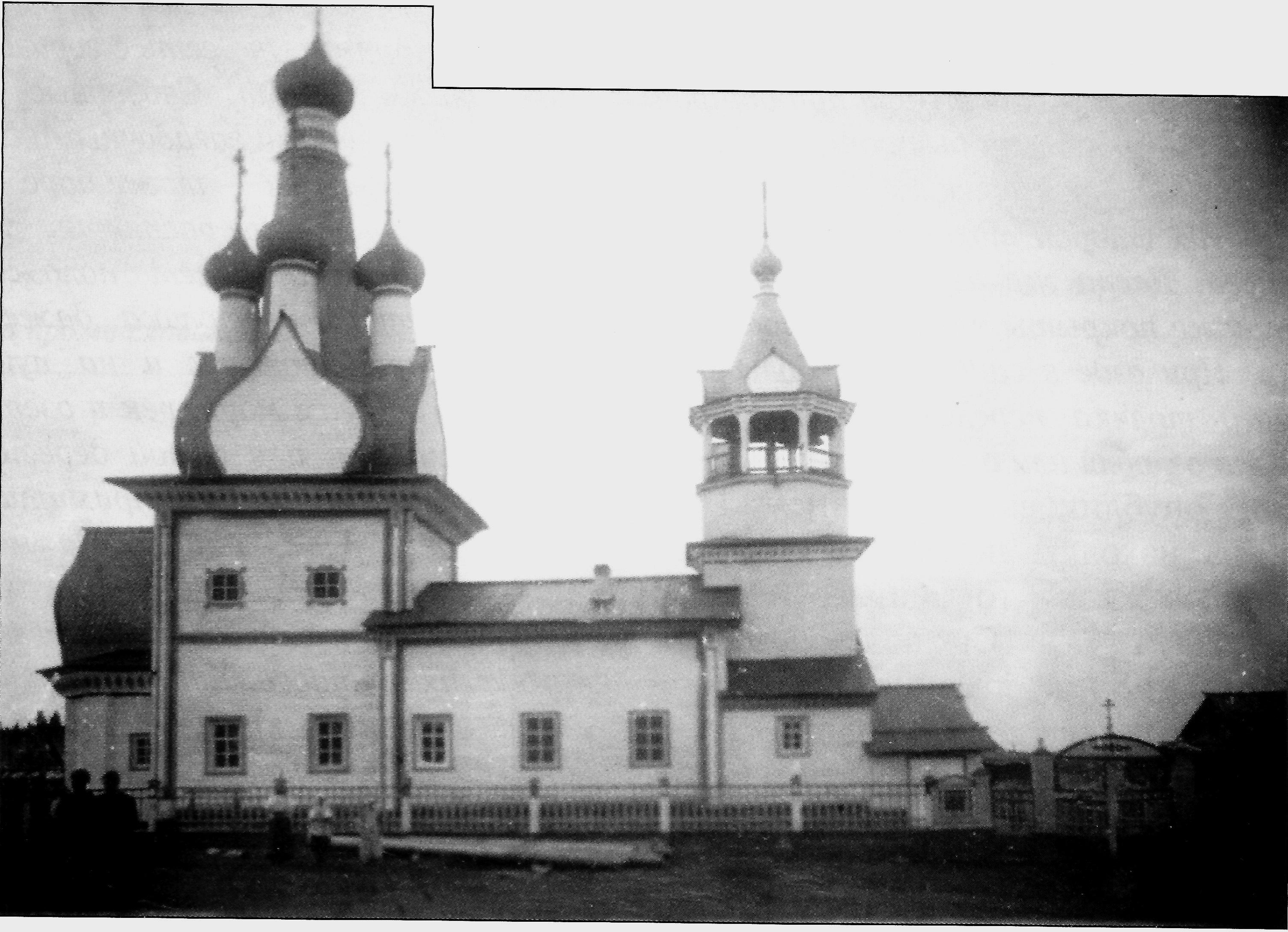 Церковь во имя иконы Божией Матери Одигитрия в селе Кимжа