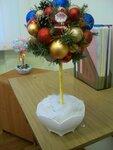"""Разин Дмитрий (рук. Богданова Евгения Владимировна) - """"Новогоднее дерево"""""""
