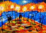 "Безлепкина Алиса (рук. Овсянникова Светлана Ивановна) - ""Вечерние прогулки"""