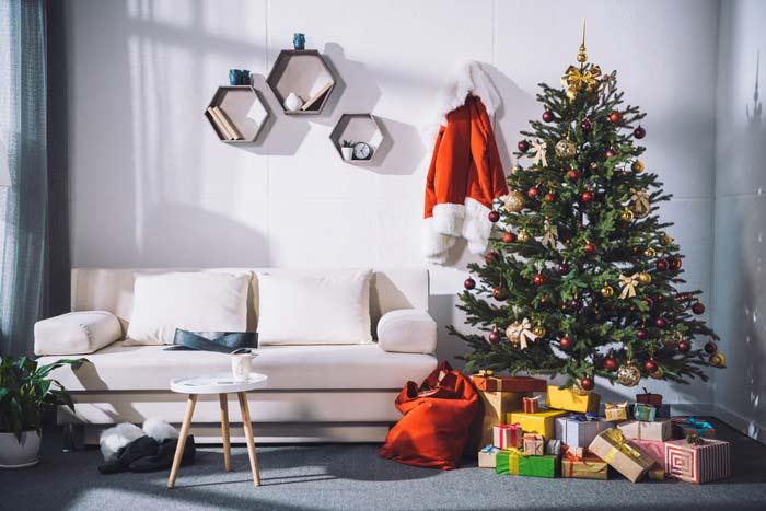 быстро украсить дом к Новому году