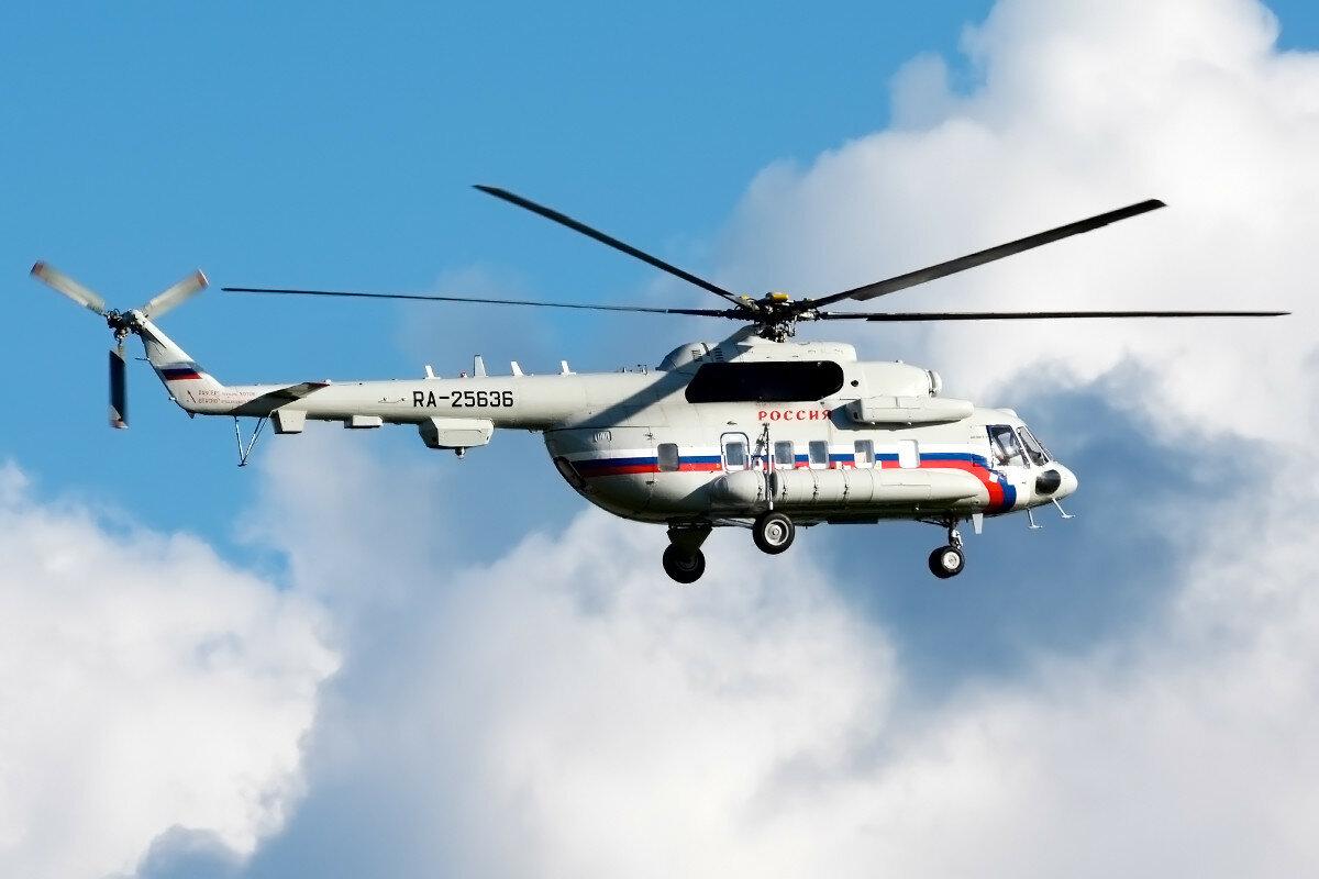 Миль Ми-8МТ. Россия - СЛО. RA-25636.