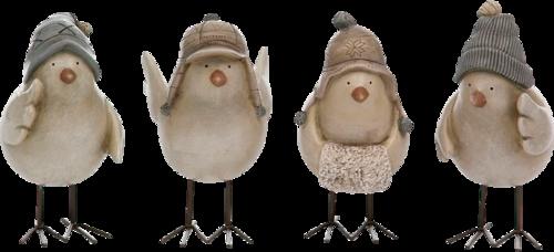 зимние птички