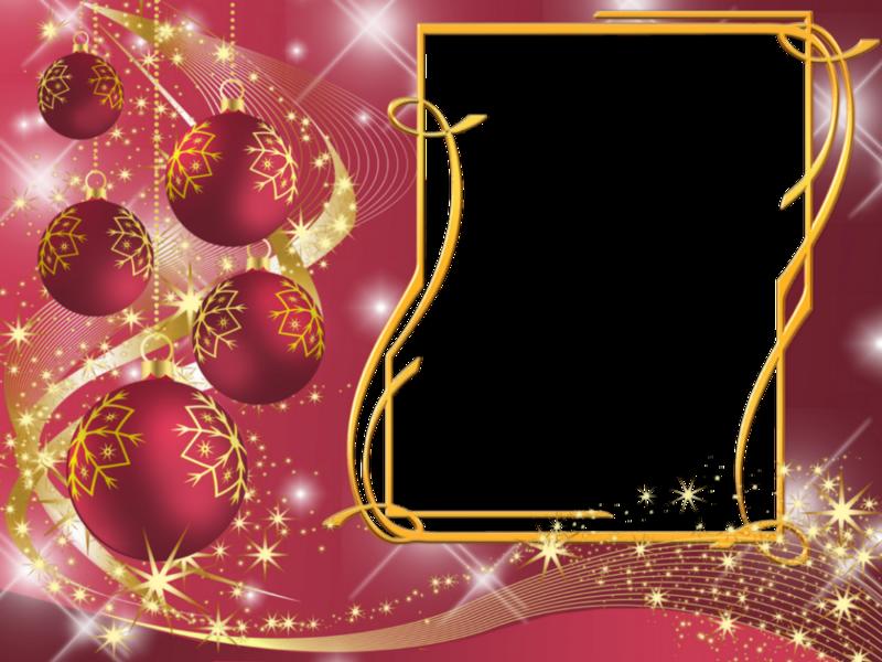День рождения, новогодние рамки для поздравления организации