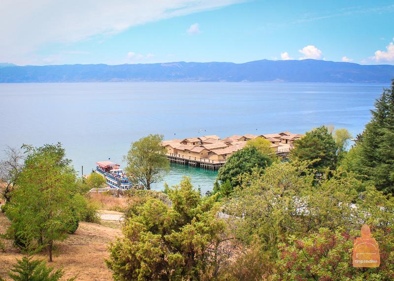 Залив на костях в Македонии