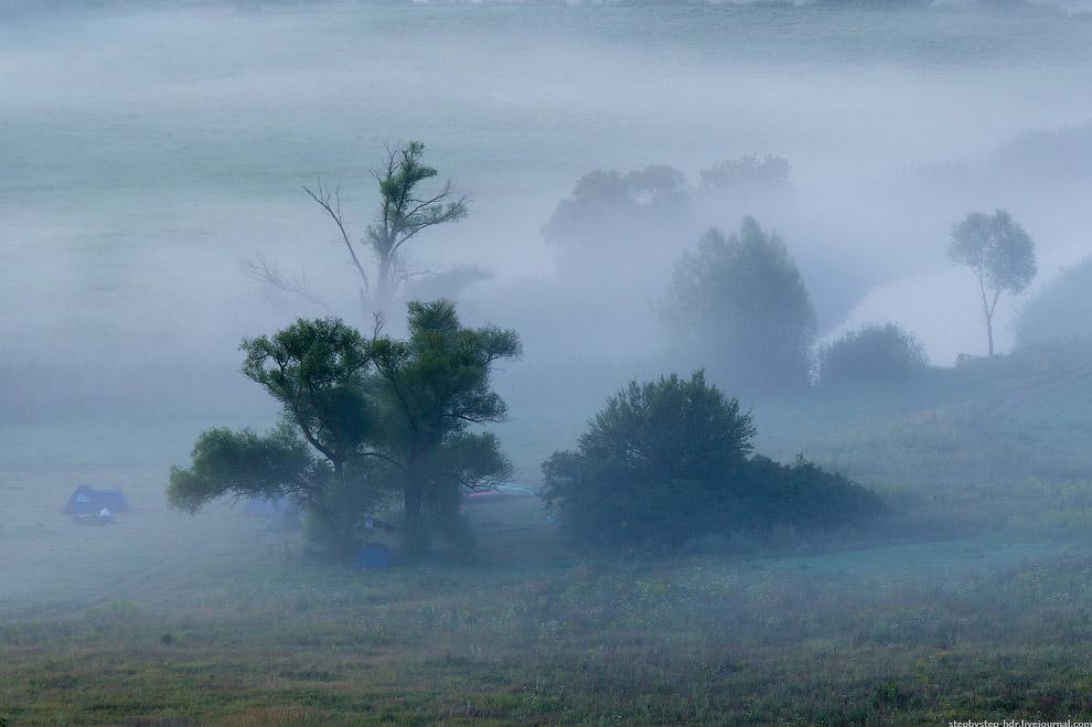 Туман — атмосферное явление, скопление воды в воздухе, когда образуются мельчайшие продукты конденса