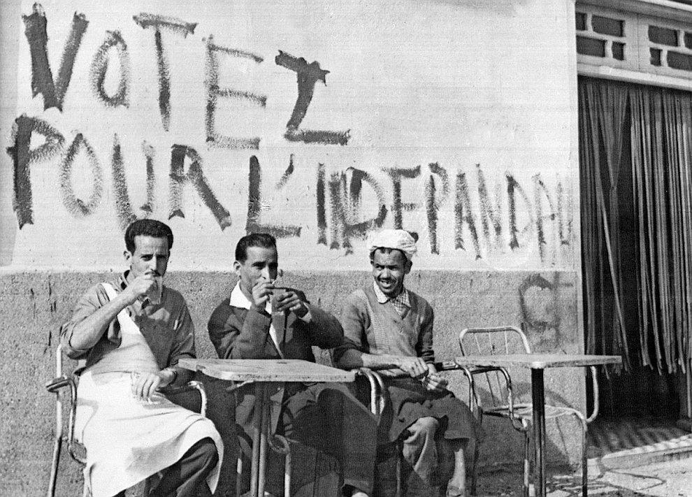 Война за независимость Алжира от Франции  является одной из самых известных антиколо