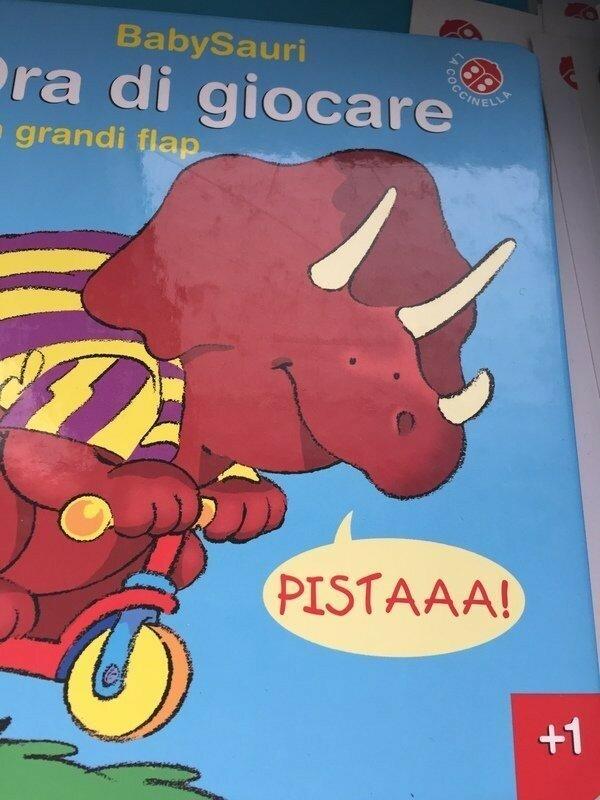 И никогда не берите в руки детские книжки на других языках