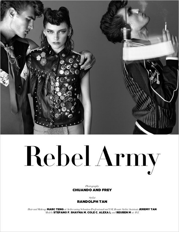 REBEL ARMY by CHUANDO & FREY for D'SCENE BEAUTY