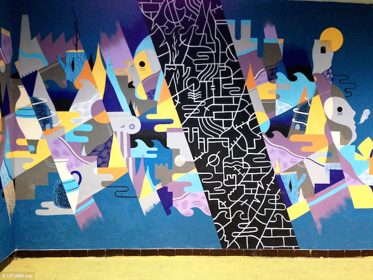 Aux Tableaux ! – A massive and awesome street art project in an abandoned school