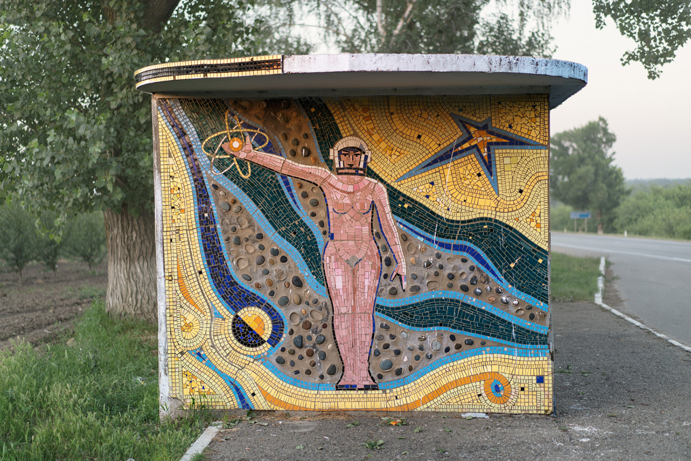 The Wild Architecture of Soviet-Era Bus Stops Photographed by Christopher Herwig