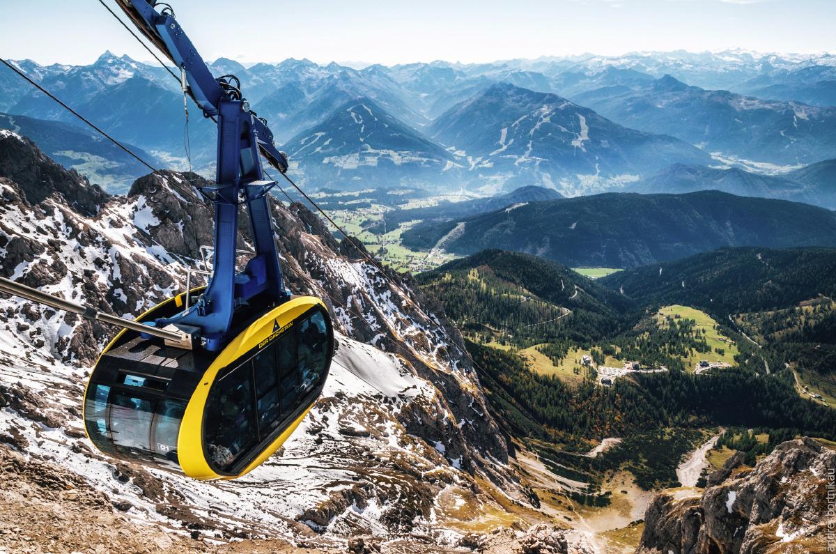 alpinexp, подъемник на ледник Дахштайн, Австрия
