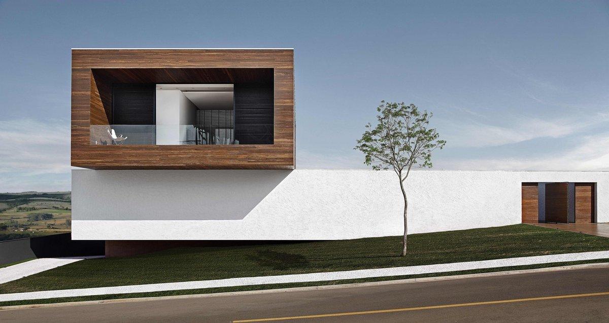 Монолитный особняк в Бразилии