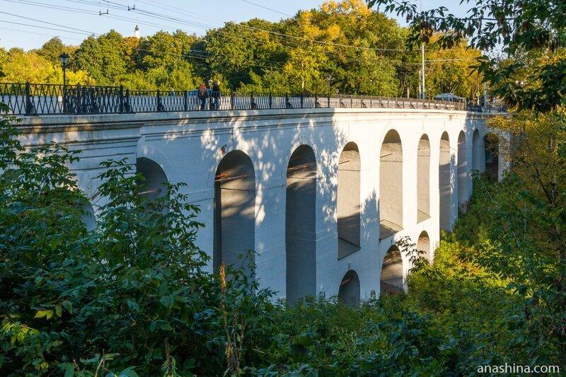 Каменный мост-виадук через Березуйский овраг, Калуга