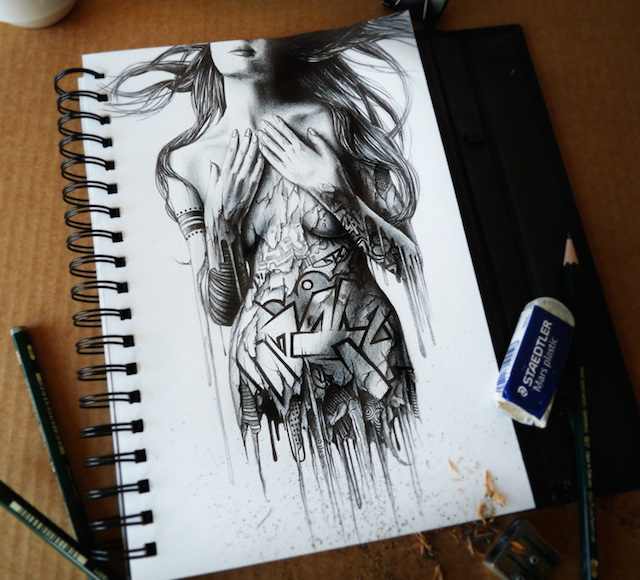 Amazing Graphite Pencil Drawings