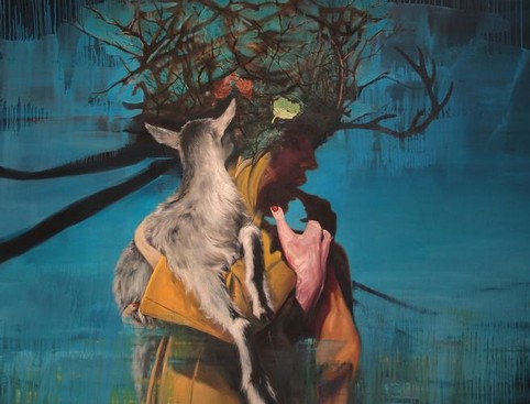 Surrealist Paintings - Lorella Paleni
