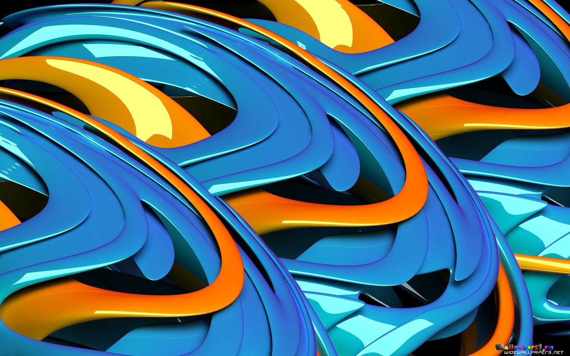 графика абстракция линии 3D  № 3666838  скачать