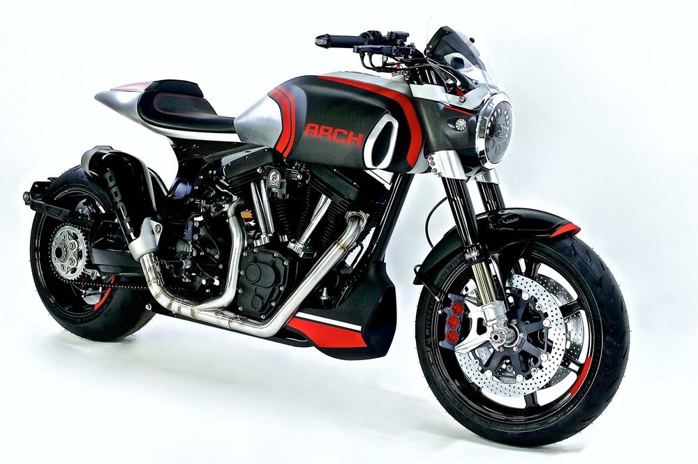 EICMA 2017: мотоцикл Arch KRG-1S 2018