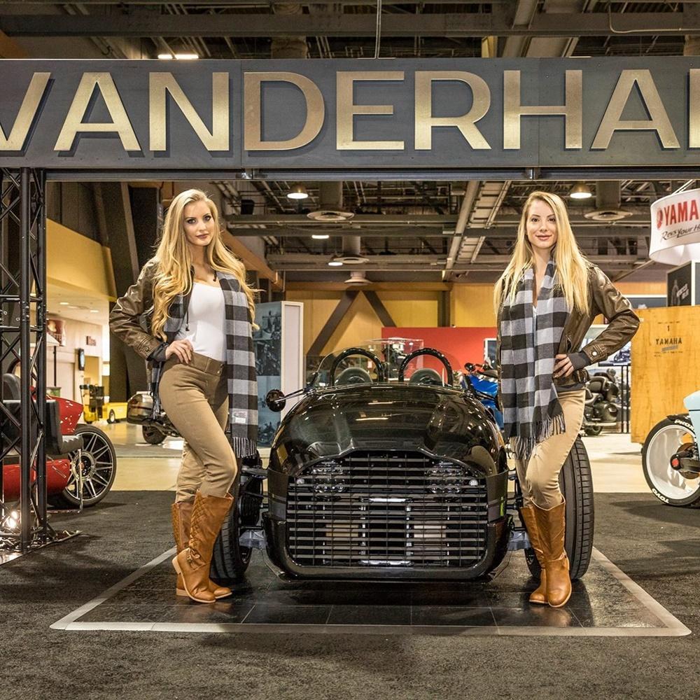 Электрический трицикл Vanderhall Edison2