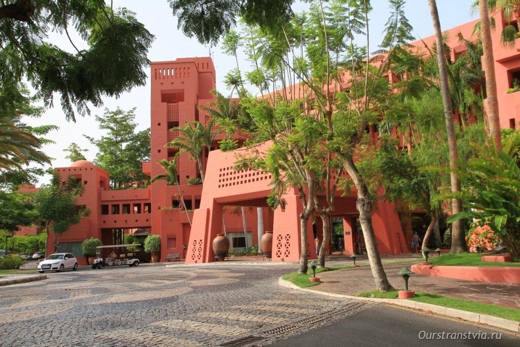 Отель Абама на Тенерифе